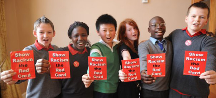 what can we all do about racism show racism the red card