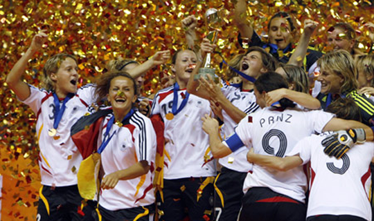 Germany win Women's World Cup 2007